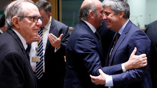 Mário Centeno eleito presidente do Eurogrupo