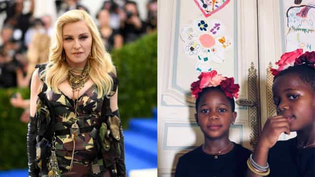 Filhas de Madonna aprendem português... com funk brasileiro