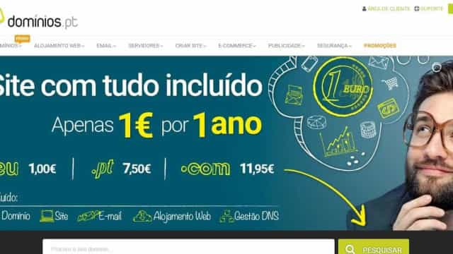 Dominios.pt aumenta venda de sites em 120%