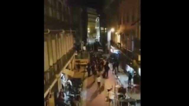 Adeptos do Basileia envolvem-se em confrontos durante a noite