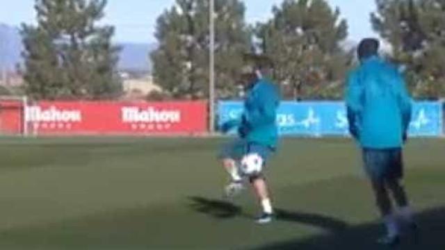 Cristiano Ronaldo e Varane em 11 segundos de pura técnica