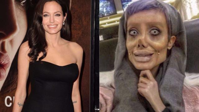 Afinal era tudo mentira. Iraniana não quer ser como Angelina Jolie