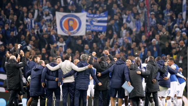 Os possíveis adversários do FC Porto nos 'oitavos' da Liga dos Campeões