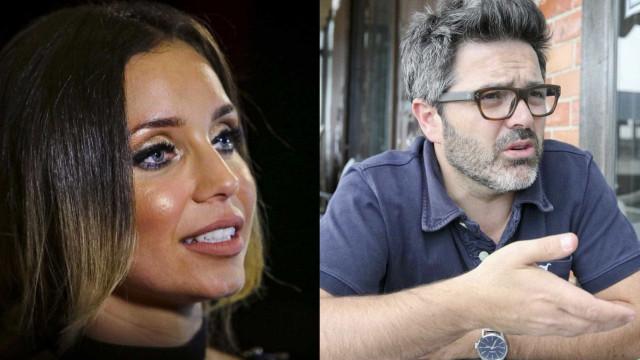 """Luciana Abreu revoltada com Nilton: """"És absolutamente coisa nenhuma"""""""