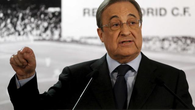 """Depois de perder CR7, Florentino Pérez promete """"fantásticos jogadores"""""""
