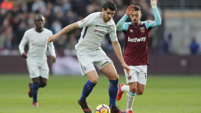 Crise do West Ham chega ao fim com triunfo sobre o Chelsea