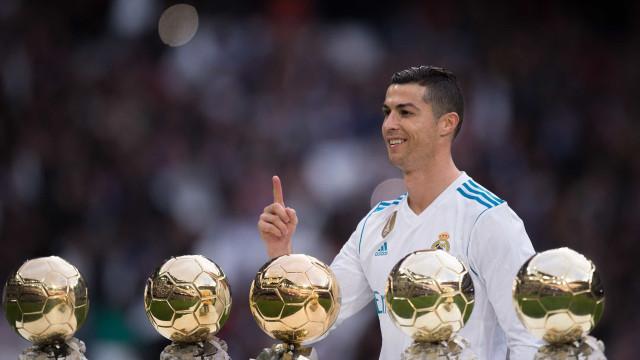 Adeus CR7: 18 anos depois, Real Madrid não tem um Bola de Ouro
