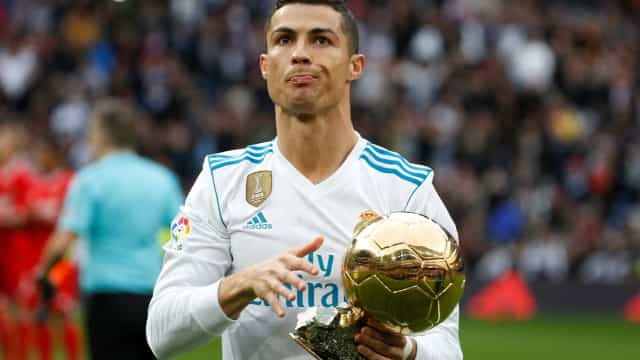 Fisco espanhol pretende cobrar 30 milhões de euros a Ronaldo