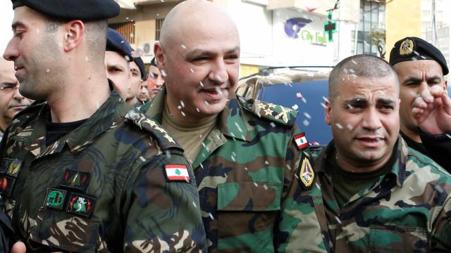 Exército libanês reforça a vigilância na fronteira com Israel