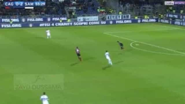 Serie A: Acredite, tão cedo não irá ver golo mais insólito do que este