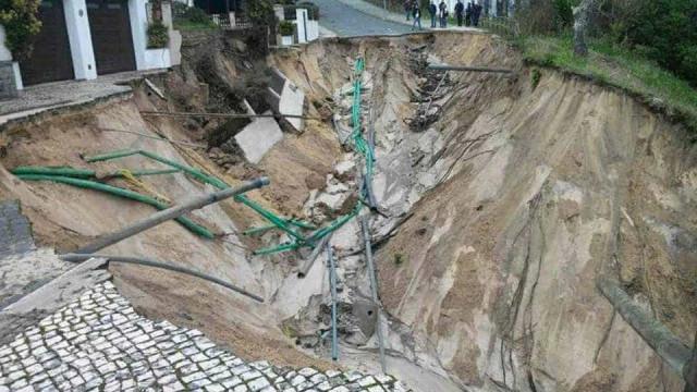 Reparação de estragos em São Pedro de Moel começa na segunda-feira