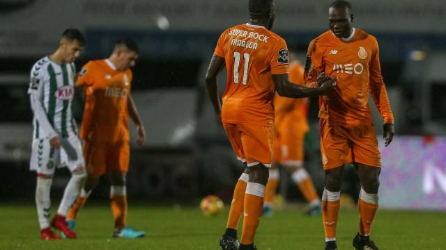 Ricardo e Aboubakar falham último treino antes do Estoril