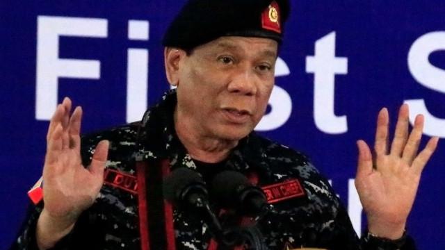 Presidente das Filipinas quer prolongar lei marcial por mais um ano