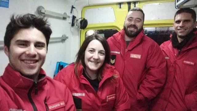 Depois da tempestade... mulher dá à luz em ambulância dos bombeiros