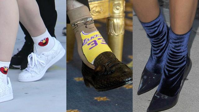 Estilo: As meias mais extravagantes e bizarras dos famosos