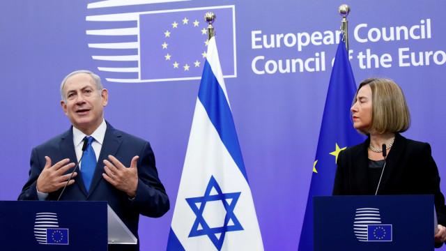 Jerusalém: Netanyahu convencido que UE vai seguir a decisão de Trump