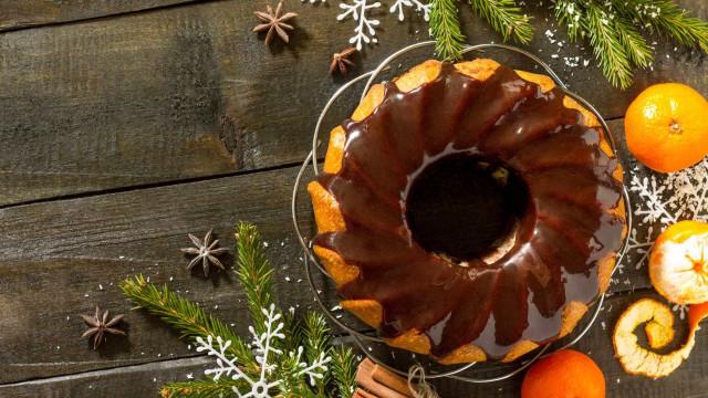 Bolo de chocolate com laranja, o doce que irá alegrar a Consoada