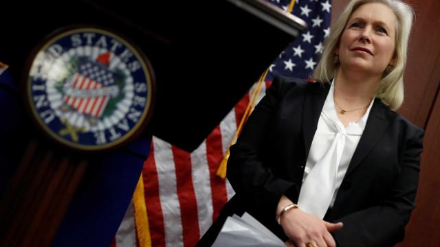 Senadora Kirsten Gillibrand exige renúncia de Trump por assédio sexual