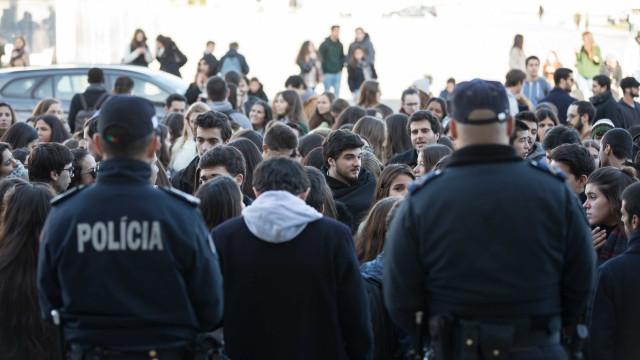 JSD preocupada com ação da PSP em manifestação de estudantes