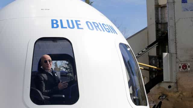 Em 2019 poderá cumprir o sonho de ir ao Espaço, diz patrão da Amazon
