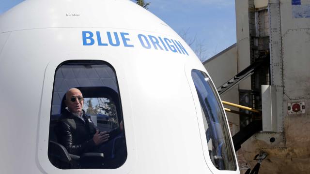 A Blue Origin testou cápsula dedicada a turismo espacial. Veja o vídeo
