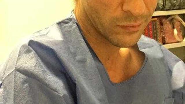 José Carlos Pereira começou o dia no bloco com uma cirurgia