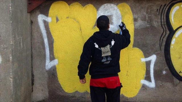 'Graffiter' português Smile inaugura exposição a solo em Paris