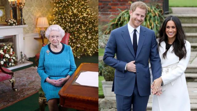 Rainha 'quebra' regras e deixa Meghan Markle passar o Natal no palácio