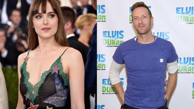 Dakota Johnson e Chris Martin estão mesmo a namorar