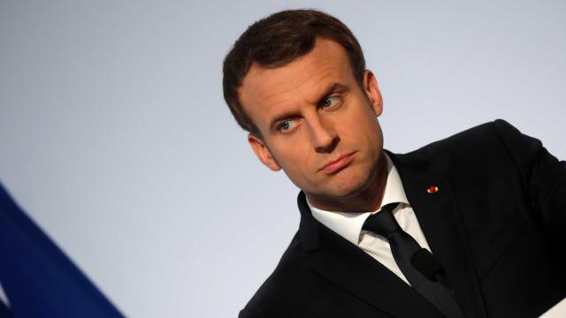 Macron defende a criação de um exército único europeu
