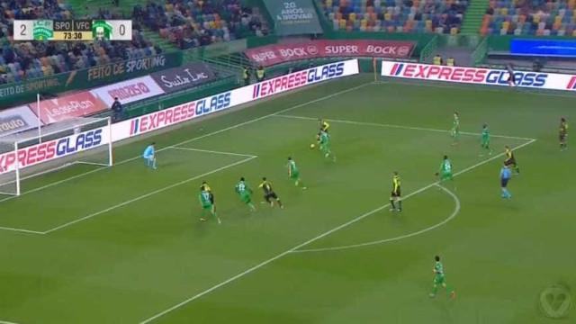 Doumbia assina mais um golo em Alvalade e completa hat-trick