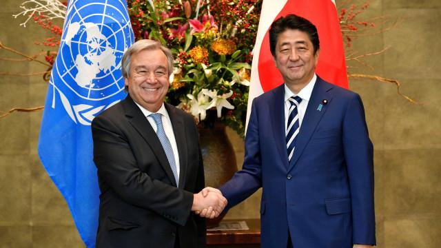 """""""Discutimos necessidade de aplicar plenamente sanções contra Pyongyang"""""""