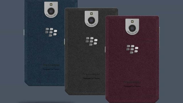 Este é o BlackBerry que gostava de ter. Infelizmente é só um 'concept'