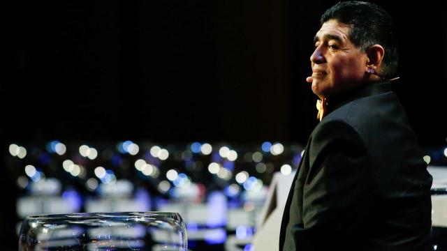 Maradona garante que está livre das drogas