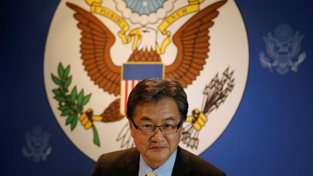 Enviado dos EUA apoia conversações incondicionais com Coreia do Norte