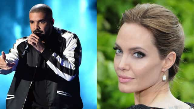 Rihanna o quê? Drake tem um 'paixoneta' por... Angelina Jolie