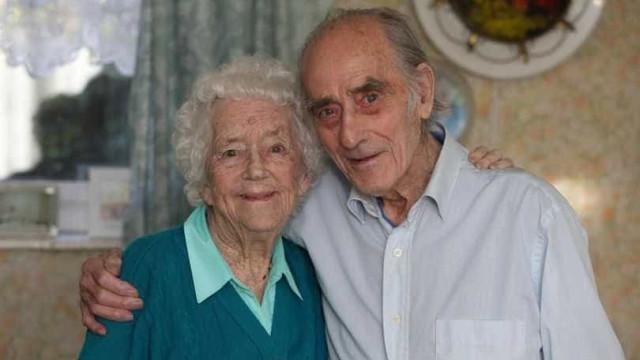 Salvou desconhecida de morrer afogada. Após 77 anos, ainda estão juntos