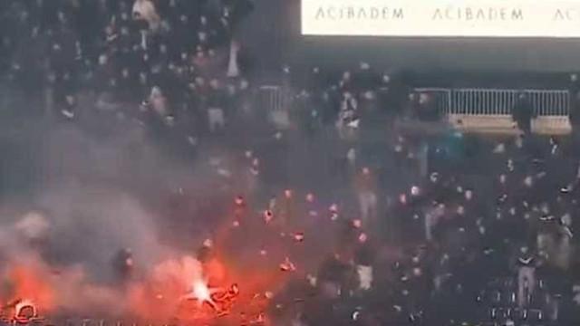 Dérbi entre Partizan e Estrela Vermelha não podia ter corrido pior