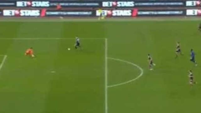 O toque de classe de Immobile que fechou a goleada da Lazio