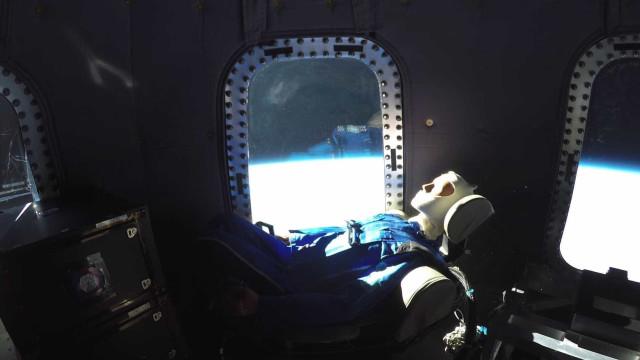 A Blue Origin leva-o numa viagem ao espaço. Veja o vídeo