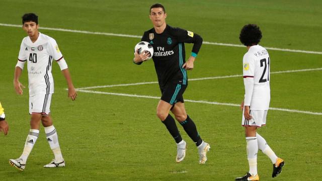 """Ronaldo: """"Isto é um extra para continuar a lutar"""""""
