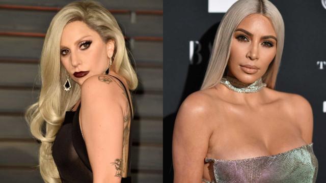 Lady Gaga acusada de imitar Kim Kardashian