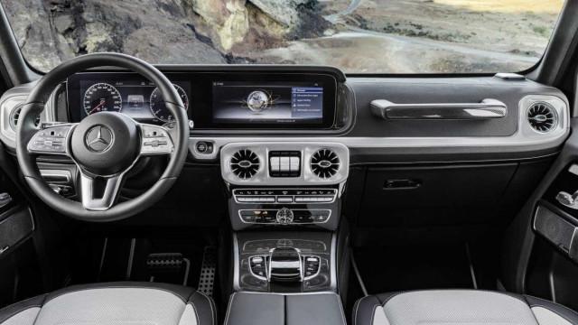 Prepare-se para não sair do novo Mercedes-Benz Classe G