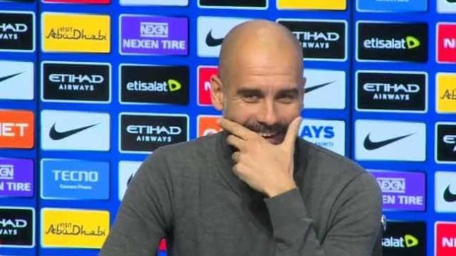 Alexis Sánchez? Guardiola riu-se, não se comprometeu e acabou conferência