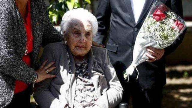 Morreu a mulher mais velha da Europa. Tinha 116 anos