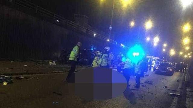 """Acidente """"muito grave"""" em Birmingham faz seis mortos e um ferido grave"""