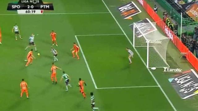 Bas Dost aumenta a vantagem do Sporting sobre o Portimonense