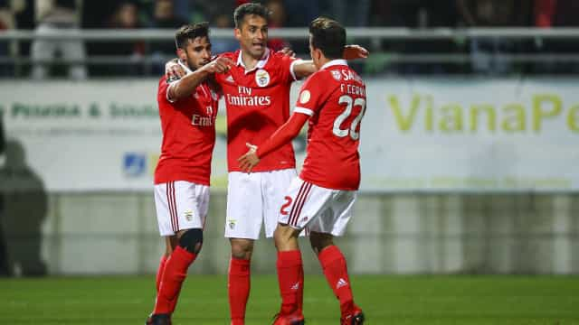 [3-0] Já se joga a segunda parte do Tondela-Benfica