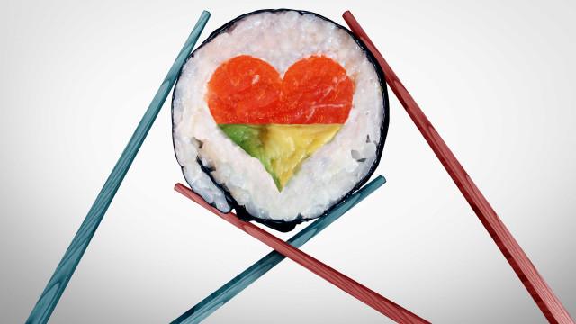 Sushi Christmas Box. O jantar de Natal que muitos desejam