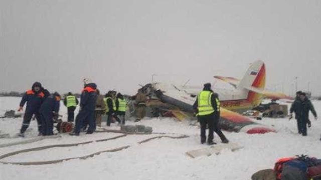 Queda de avião na Rússia faz três mortos